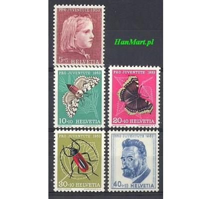 Znaczek Szwajcaria 1953 Mi 588-592 Czyste **