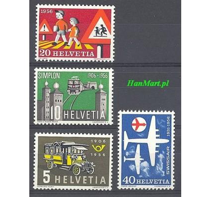 Znaczek Szwajcaria 1956 Mi 623-626 Czyste **