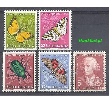 Znaczek Szwajcaria 1957 Mi 648-652 Czyste **