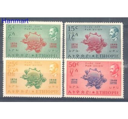 Znaczek Etiopia 1949 Mi 271-274 Czyste **