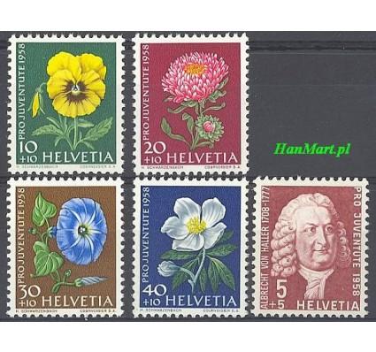 Szwajcaria 1958 Mi 663-667 Czyste **
