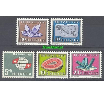 Szwajcaria 1959 Mi 674-678 Czyste **