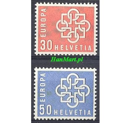 Znaczek Szwajcaria 1959 Mi 679-680 Czyste **