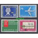 Szwajcaria 1960 Mi 692-695 Czyste **