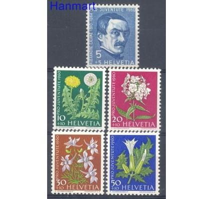 Szwajcaria 1960 Mi 722-726 Czyste **