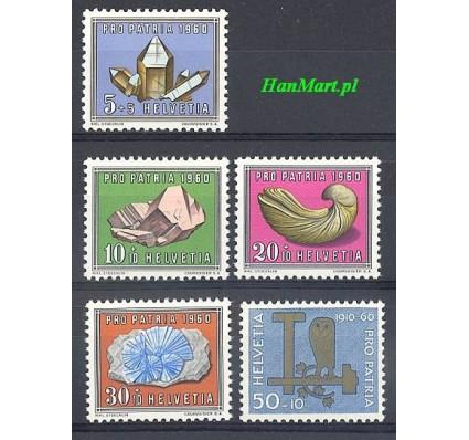 Szwajcaria 1960 Mi 714-718 Czyste **
