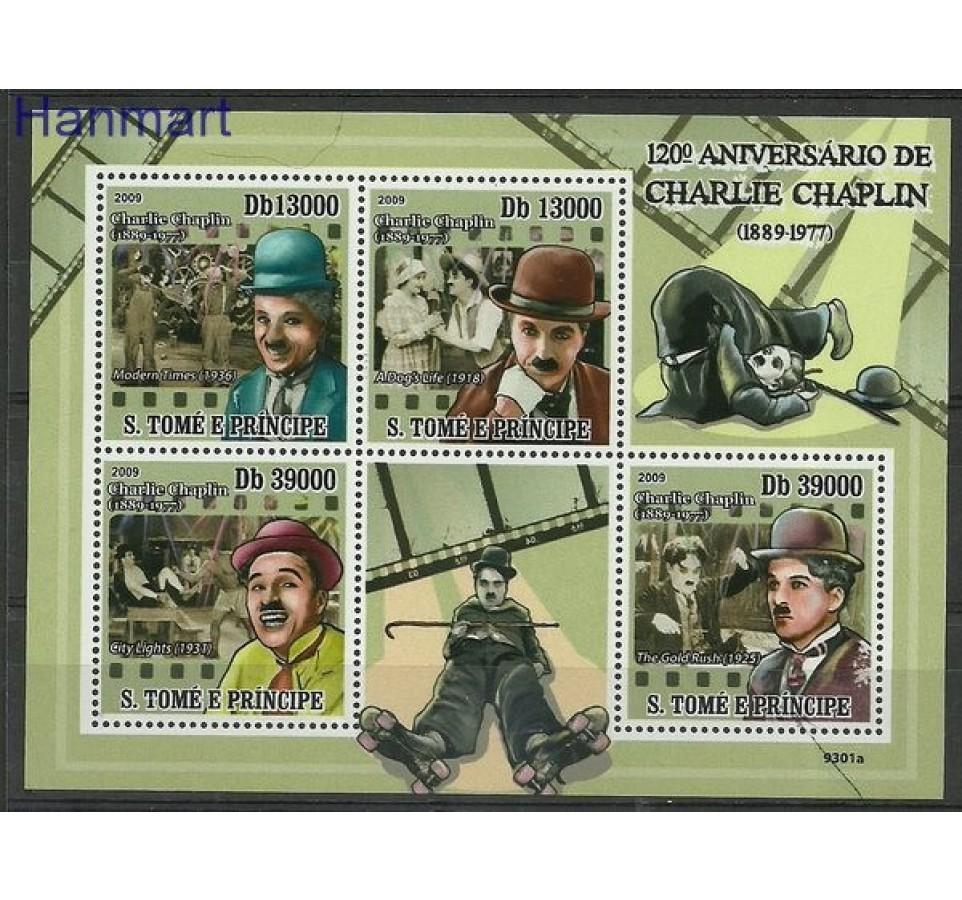 Wyspy Św. Tomasza i Książęca 2009 Mi 4053-4056 Czyste **