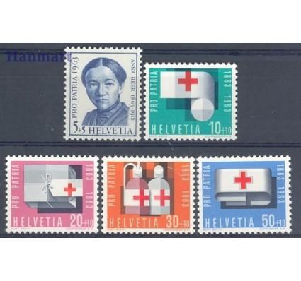 Znaczek Szwajcaria 1963 Mi 775-779 Czyste **