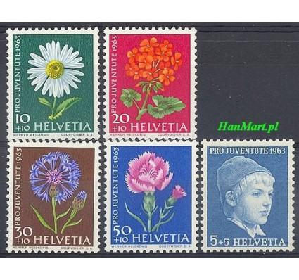 Znaczek Szwajcaria 1963 Mi 786-790y Czyste **