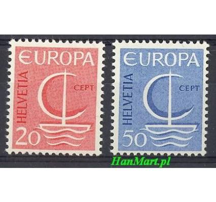 Znaczek Szwajcaria 1966 Mi 843-844 Czyste **