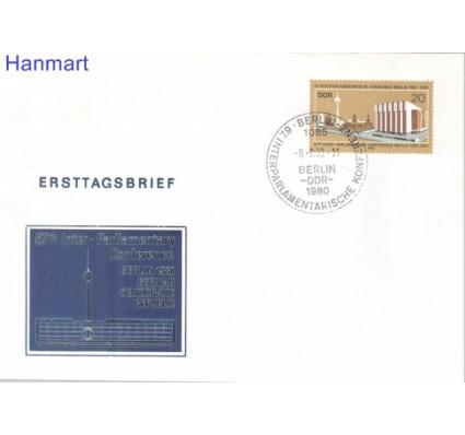 Znaczek NRD / DDR 1980 Mi 2542 FDC