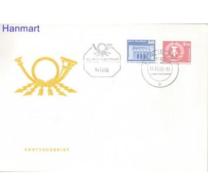 Znaczek NRD / DDR 1980 Mi 2549-2550 FDC