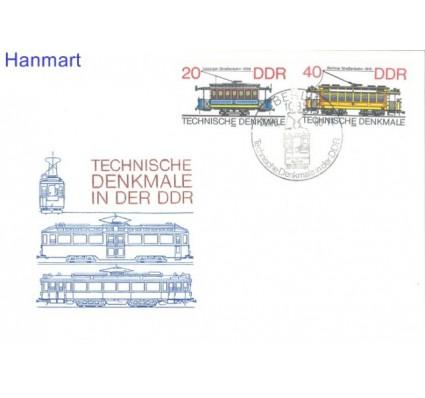 Znaczek NRD / DDR 1986 Mi 3016-3017 FDC