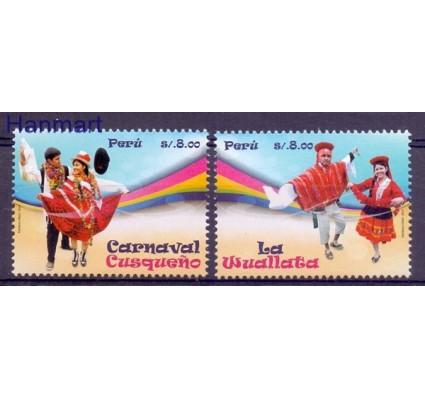 Znaczek Peru 2014 Mi 2687-2688 Czyste **