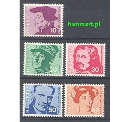 Znaczek Szwajcaria 1969 Mi 906-910 Czyste **