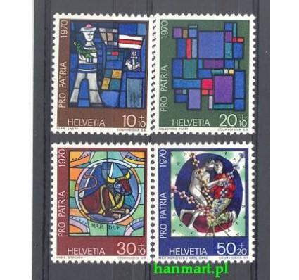 Znaczek Szwajcaria 1970 Mi 925-928 Czyste **