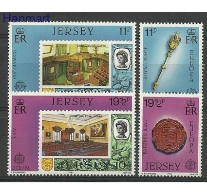 Znaczek Jersey 1983 Mi 299-302 Czyste **