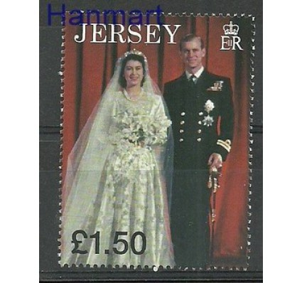 Znaczek Jersey 1997 Mi 811 Czyste **