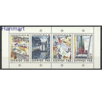 Znaczek Szwecja 1985 Mi h-blatt 134 Czyste **