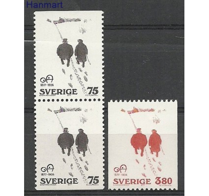 Znaczek Szwecja 1977 Mi 981-982DoDuC Czyste **