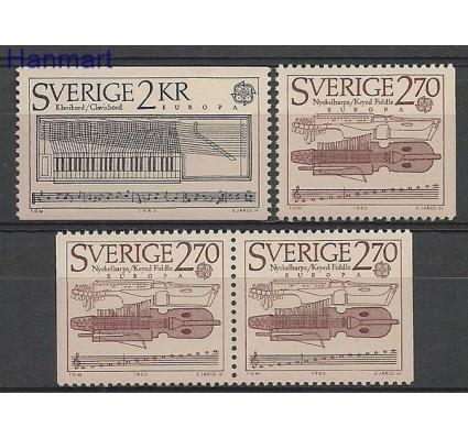 Znaczek Szwecja 1985 Mi 1328-1329ADlDr Czyste **
