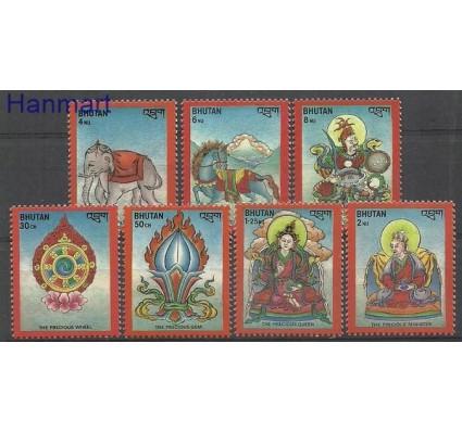 Znaczek Bhutan 1986 Mi 961-967 Czyste **