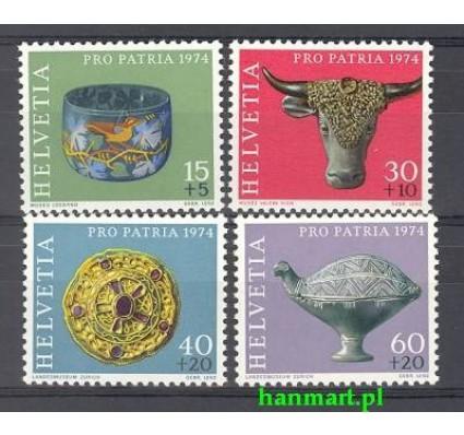 Znaczek Szwajcaria 1974 Mi 1031-1034 Czyste **