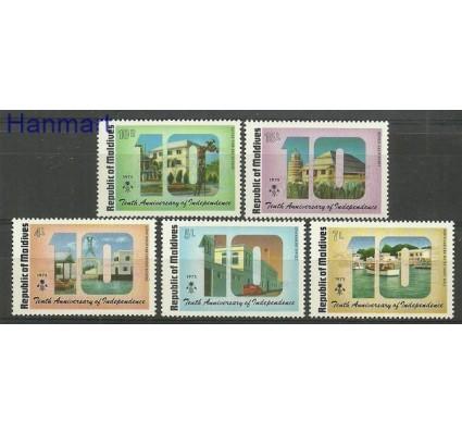 Znaczek Malediwy 1975 Mi 590-594 Czyste **