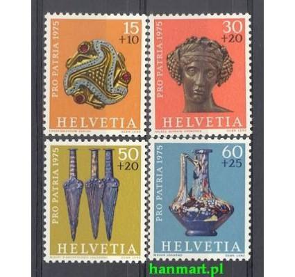 Znaczek Szwajcaria 1975 Mi 1053-1056 Czyste **