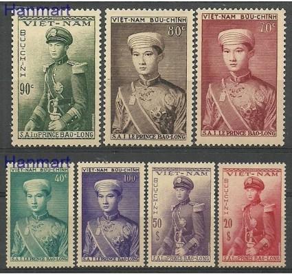 Znaczek Wietnam Południowy 1954 Mi 91-97 Czyste **