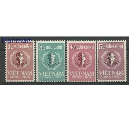 Znaczek Wietnam Południowy 1958 Mi 160-163 Czyste **
