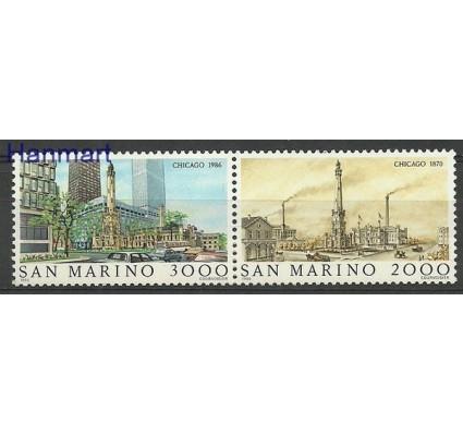 Znaczek San Marino 1986 Mi 1341-1342 Czyste **