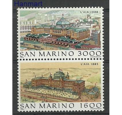 Znaczek San Marino 1988 Mi 1402-1403 Czyste **
