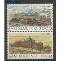 San Marino 1988 Mi 1402-1403 Czyste **