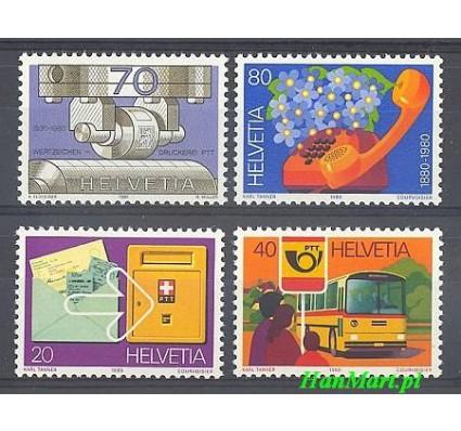 Znaczek Szwajcaria 1980 Mi 1180-1183 Czyste **