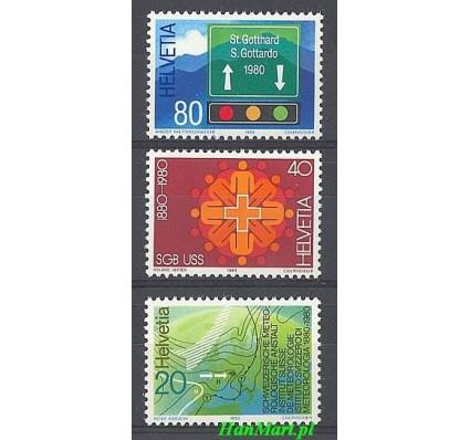 Szwajcaria 1980 Mi 1184-1186 Czyste **