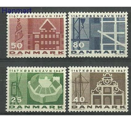 Znaczek Dania 1967 Mi 451-454x Czyste **