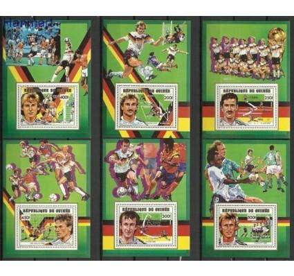 Znaczek Gwinea 1991 Mi 381-385 Czyste **