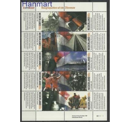 Znaczek Holandia 1999 Mi ark 1740-1749 Czyste **