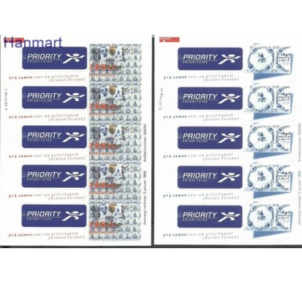 Znaczek Holandia 1998 Mi fol 1642-1643 Czyste **