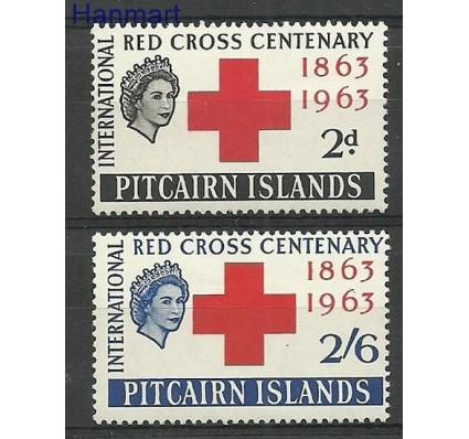 Znaczek Pitcairn 1963 Mi 37-38 Czyste **