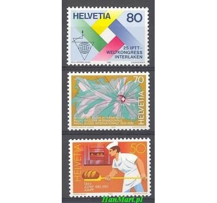 Znaczek Szwajcaria 1985 Mi 1301-1303 Czyste **