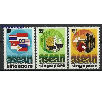 Znaczek Singapur 1977 Mi 285-287 Czyste **