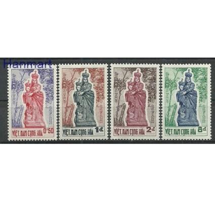 Znaczek Wietnam Południowy 1962 Mi 270-273 Czyste **