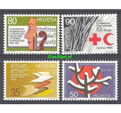 Znaczek Szwajcaria 1986 Mi 1327-1330 Czyste **