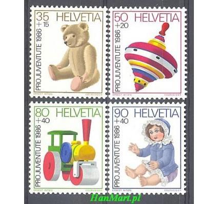 Znaczek Szwajcaria 1986 Mi 1331-1334 Czyste **