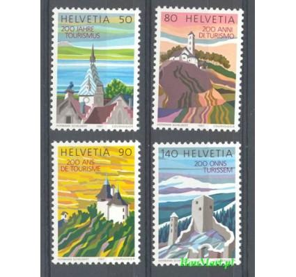 Znaczek Szwajcaria 1987 Mi 1354-1357ya Czyste **