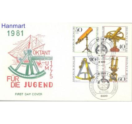 Znaczek Niemcy 1981 Mi 1090-1093 FDC