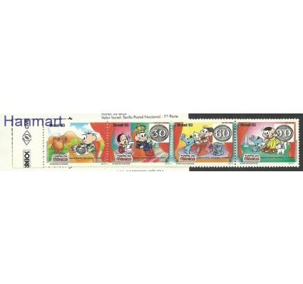 Znaczek Brazylia 1993 Mi mh 2534-2537 Czyste **