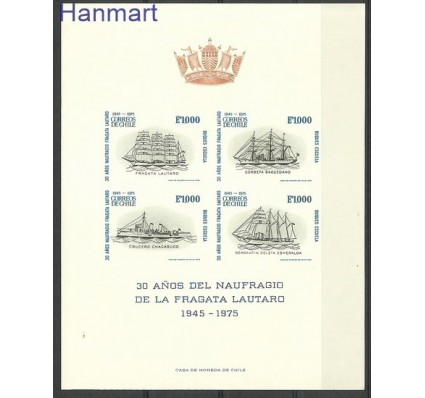 Znaczek Chile 1975 Mi gedbl 838-841B Czyste **